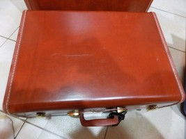 "Vtg Samsonite Shwayder Bros 20"" Hardcase Suitcase Home Decor End Table N... - $28.71"