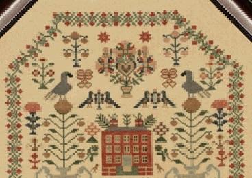 Elizabeth Wood 1822 cross stitch chart With My Needle image 2