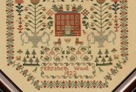 Elizabeth Wood 1822 cross stitch chart With My Needle image 3