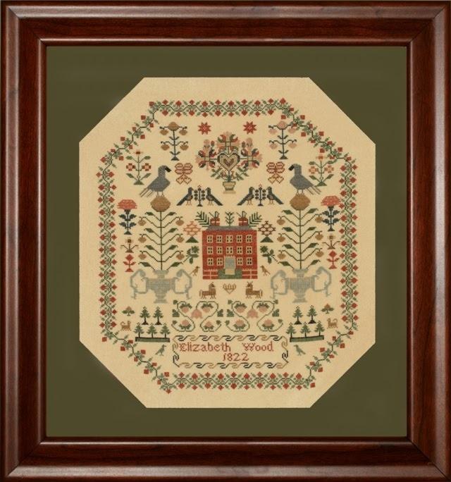 Elizabeth Wood 1822 cross stitch chart With My Needle image 4