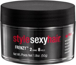 Sexy Hair STYLE Sexy Hair FRANZY Matte Texturizing Paste 2 Shine 8 Hold ... - $12.01