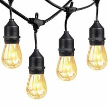 xtf2015 Outdoor Weatherproof Commercial String Lights - 48ft Heavy Duty ... - $40.06