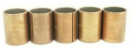 LOT OF 5 NEW KRONES 0-126-73-845-0 BRASS BUSHINGS 0126738450