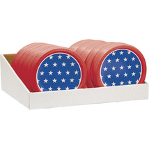 Patriotic Paper Bowl Counter Display, Case of 16 - €64,51 EUR