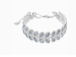 SWAROVSKI BARON 5074352 BLUE RHODIUM PLATED WOMEN'S BRACELET - $226.70