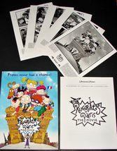 2000 Movie RUGRATS IN PARIS PRESS KIT 5 Photos Production Notes Booklet ... - $22.49