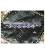 Sterling Silver Amethyst Agate Geode Purple Cab... - $39.97