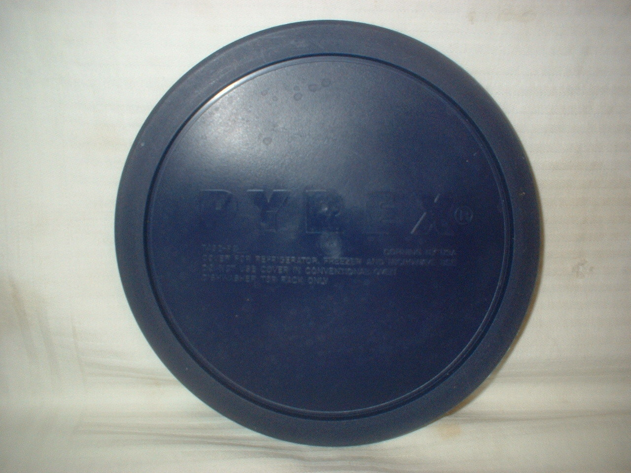 "PYREX Plastic Lid Round 7402 PC 7"" Replacement Lid Parts Fits 1.5 L Mixing Bowls"