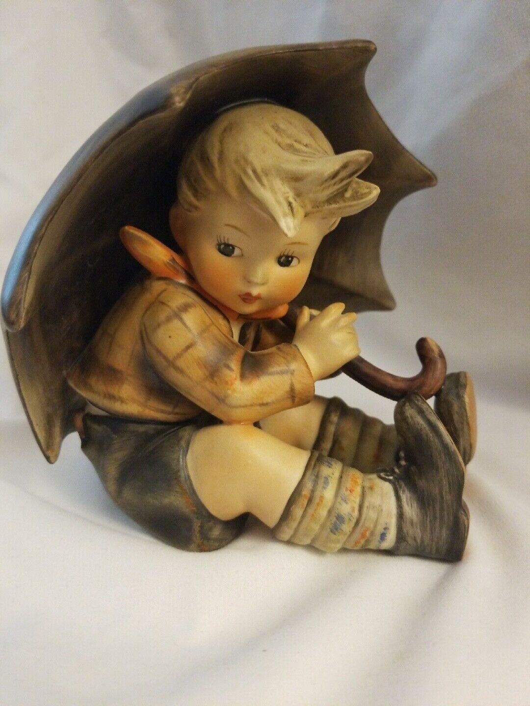 "M.I.HUMMEL 5"" Boy With Umbrella Figurine W. Germany #152/0A - TMK2 and Mint"