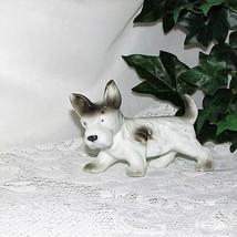 VINTAGE TERRIER DOG FIGURINE PUPPY WEST HIGHLAND SCOTTY JAPAN MIJ GREAT ... - $11.22