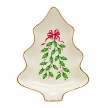 "LENOX Holiday CHRISTMAS 7.5"" TREE CANDY DISH, NEW in Box - $18.69"