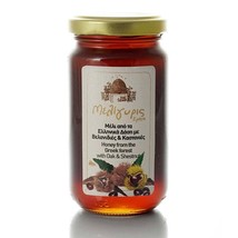 Honey from Oak & Chestnut Forests 270gr-10.72oz Jar from Crete Island GR... - $17.92