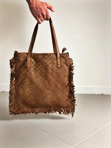 Intreccio 124 handmade woven leather bag  image 2