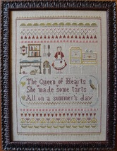 Queen Of Hearts cross stitch chart Shakespeare's Peddler image 1