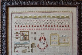 Queen Of Hearts cross stitch chart Shakespeare's Peddler image 2