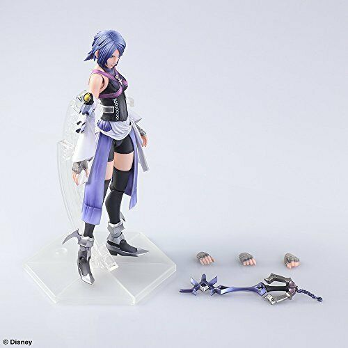 NEW SquareEnix Play Arts Kai Kingdom Hearts0.2 BirthBySleep Aqua Figure YM Japan