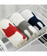 Cotton Jacquard Cat Amimal Printed Thick Washcloth Bathroom Children Han... - $4.48