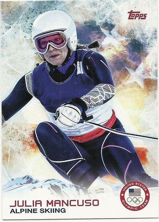 2014 US Winter Olympics  Julia Mancuso Apline Skiing #59