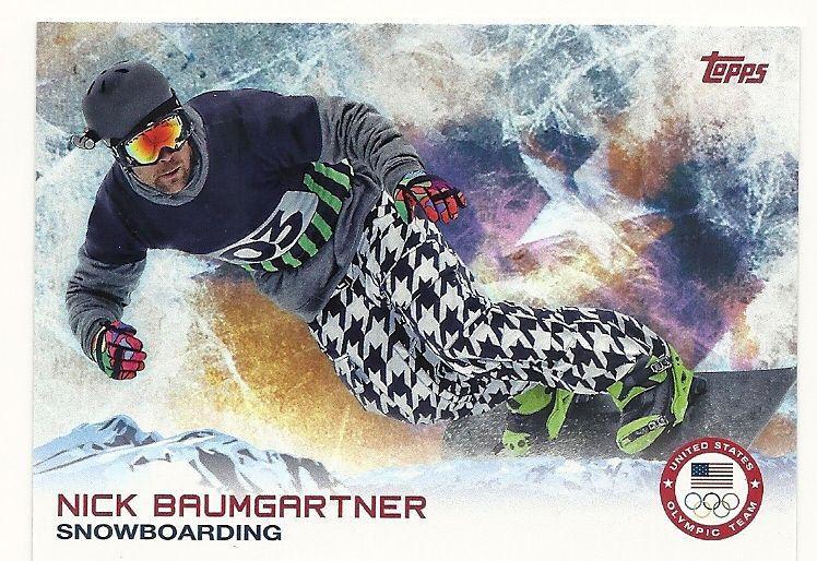 2014 Topps Winter Olympics #100 Nick Baumgartner (Snowboarding)