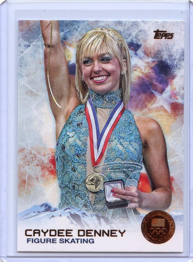 2014 Topps Winter Olympics Bronze #25 Caydee Denney (Figure Skating)