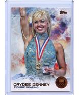 2014 Topps Winter Olympics Bronze #25 Caydee Denney (Figure Skating) - $2.25
