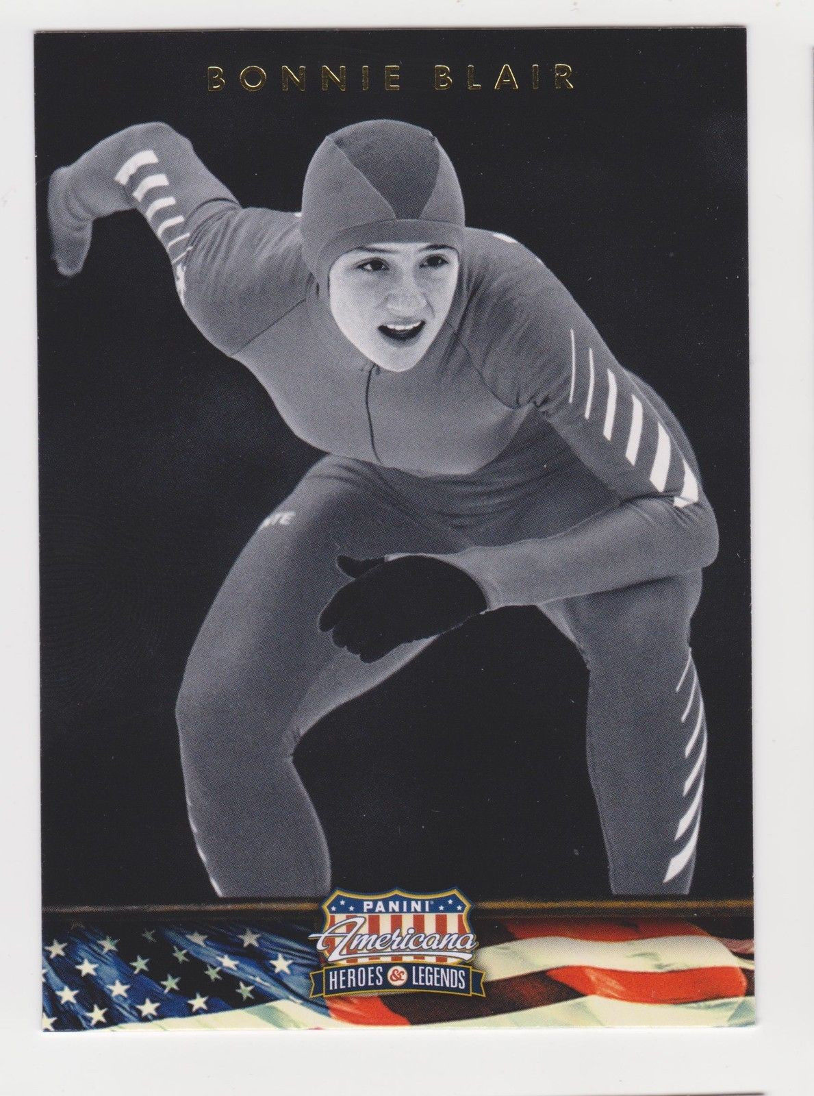 2012 Panini Americana Heroes & Legends BONNIE BLAIR #64 Olympic Speed Skater
