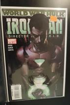 #20 Iron Man Dicector of S.H.E.I.L.D. World War Hulk Maevel Comic Book D157 - $4.21