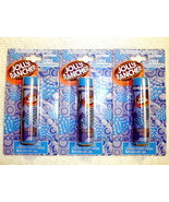 Jolly Rancher Candy Flavored Lip Balm Blue Raspberry 3 Pack Sealed - $4.71