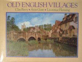 Old English Villages Lovely Hardback Book Coffee Table Book 1986 - $8.00