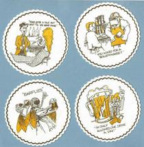 Fort Howard Napkin - many jokes - reasons for drinking and 4 joke Coaste... - $3.95