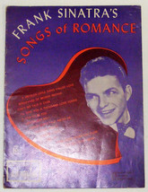 Vintage Sheet Music / Song Book ~ FRANK SINATRA'S 27-pg Songs of Romance... - $9.99