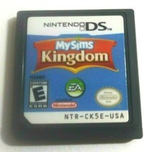 MySims Kingdom Nintendo DS, 2008 Game Only No Case - $5.91