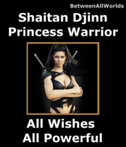 wdm spr Sexy Female Shaitan Djinn Warrior Princess +Army Betweenallworld... - $155.37