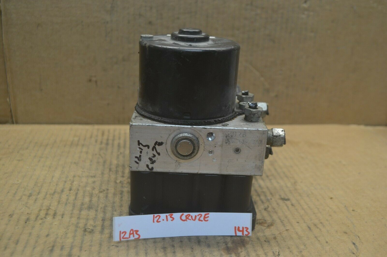 Primary image for 12-15 Chevrolet Cruze ABS Pump Control OEM 13434670 Module 143-12a3