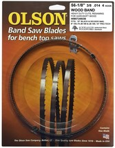 "Olson Band Saw Blade 56-1/8"" inch x 3/8"", 4TPI for Delta 28-180, 28-185 ... - $12.99"