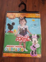 DISNEY GIRLS TODDLER MINNIE MOUSE INFANT COSTUME DRESS-UP 12-18 MONTHS N... - $14.80