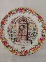 Royal Albert Old Country Roses Christmas Magic 1st Annual Collector Plat... - $33.87