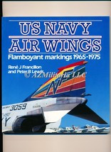 US Navy Air Wings Flamboyant Markings 1965-1975 Colour Series - $16.75