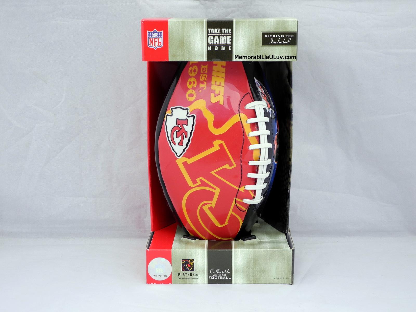 Kansas City Chiefs NFL Team Logo Football Junior