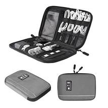 BAGSMART Electronic Organizer Travel Universal Cable Organizer (Grey) - €24,61 EUR