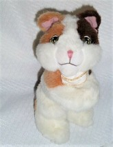 2004 Mattel Barbie Stuffed Animal Moving Arms Hug Hold Wolfie the Cat Pl... - $16.82