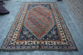 Stunning Semi Antique Persian Shirazi rug 100% wool hand knotted area rug - $269.10