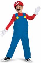 Disguise Super Mario Bros. Mario Deluxe Kinder Jungen Halloween Kostüm 6... - $33.61