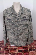 US AIR FORCE ABU MAN'S COAT SHIRT BLOUSE TWILL CURRENT ISSUE SIZE 40R Pa... - $19.34