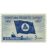 1957 3c Coast & Geodetic Survey Scott 1088 Mint... - $0.99