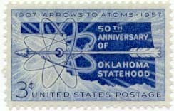 1957 3c Oklahoma Statehood Scott 1092 Mint F/VF NH