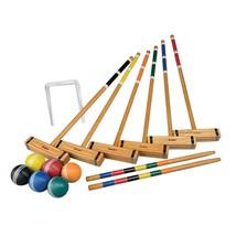 Classic Croquet Set, 2-6 Players, Portable Carry Bag Storage Fun & Leisu... - $110.67