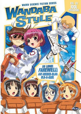 Primary image for Wandaba Style: Idol Invasion Vol. 03 DVD Brand NEW!
