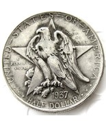 1937 Texas Independence Half Dollar USA American Commerative Casted Coin - $11.99