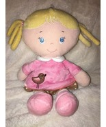 """Kids Preferred Blonde Hair Pigtails Plush 11"""" Doll Stuffed Baby Girl Toy... - $11.87"""